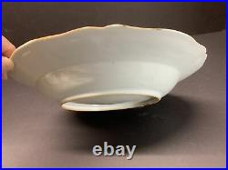 18th C. QIANLONG HandPaint Famille Rose Chinese Export Porcelain Dinner Plate 9