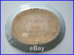 A Rare Chinese Export Porcelain Famille Rose Qianlong Platter Chrysanthemum