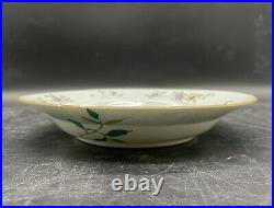 Antique Chinese Qianlong Famille Rose Plate