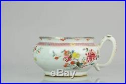 Antique Yongzheng Qianlong Period Famille Rose Cachepot Chinese China Po
