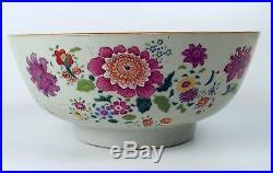 Big Bowl. Porcelain. Qianlong. Famille Rose. Xviii-xix