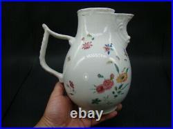 Chinese Qian Long (1736-1795) nice famille rose big coffee pot c5013