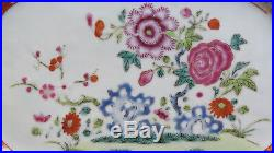 Chinese export porcelain meat plate dec Famille Rose -Qianlong Period-nº23