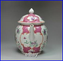 Chinese famille rose teapot, Qianlong (1736-95)