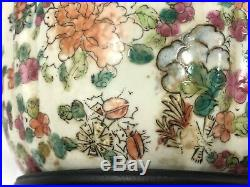Estate Qianlong Qing Dynasty Chinese Famille Hand Painted Chinese Vase 15