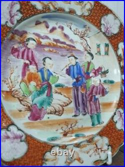 Famille Rose Dish, Qianlong Period(1736-1795)