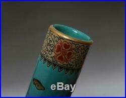 Fine Old Chinese Famille Rose Porcelain Vase Qianlong Marked 43cm (614)