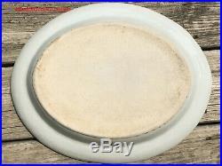 Large 38cmW Chinese Qing Qianlong Daoguang Era Famille Rose Porcelain Platter