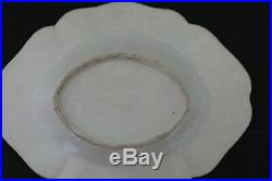 Plat Famille rose Qianlong Cie Indes porcelaine Chine 18è / chinese export 18th