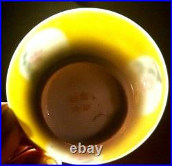 Qianlong Eggshell Plate/Bowl Enamelled Famille Rose Chien Lung Mark
